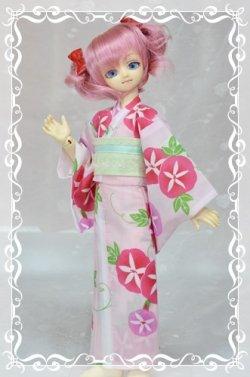 画像1: MSD女の子用 単衣着物(浴衣など裏地のないタイプ)の型紙