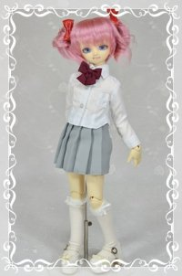 MSD女の子用 プリーツスカートの型紙