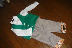 画像1: 子供服 ベスト・パンツ 投稿者:T様