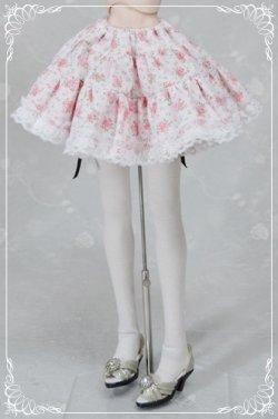 画像1: DD M胸(DDII,III)、SD、SD13女の子用裏つきギャザースカートの型紙