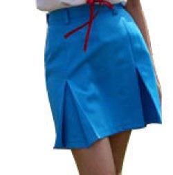 画像1: ボックスプリーツスカートの型紙 レディース