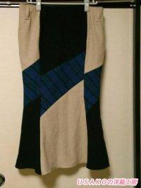 マーメードラインのスカート 投稿者:花子どっと混む様