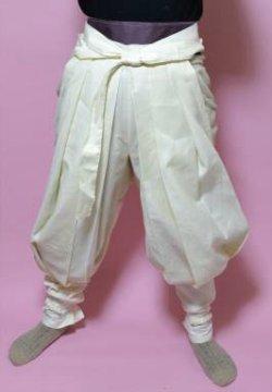 画像2: 忍者、戦国時代のコスプレに  祭りたっつけ袴もどきの型紙 男性向け