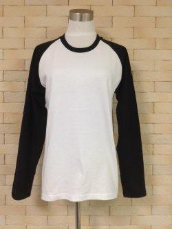 画像1: ラグランTシャツ紳士【委託商品】