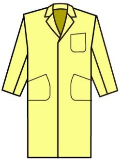 画像2: 白衣も作れるテーラードカラーのボックスコートの型紙【委託商品】 レディース