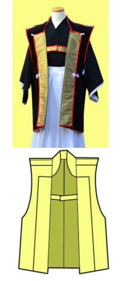 画像3: 陣羽織もどき大きめサイズの型紙
