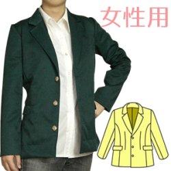 画像1: 男性キャラクターの雰囲気を出したい女性の為の男装用テーラードジャケットの型紙 レディース
