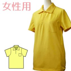 画像2: ポロシャツの型紙 レディース
