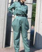 他の写真1: 両脇が膨らんだ古風な軍服風の乗馬パンツの型紙  レディース