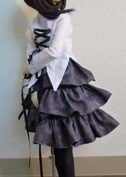 画像2: SD13女の子用3段ティアードスカートの型紙