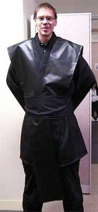 【無料】スターウォーズとかに使える着物風ブラウス(メンズ特大サイズ) の型紙「お試し」