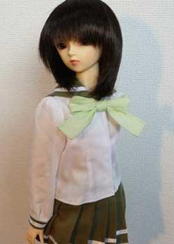 画像2: SD13女の子用 セーラーカラーブラウスの型紙