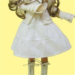 画像1: 【無料】ドール用3段ティアードスカートの型紙