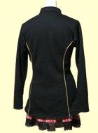 他の写真3: 細身のハイネックのジャケットの型紙 レディース