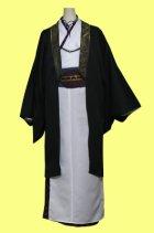 他の写真3: 男性キャラクターの雰囲気を出したい女性の為の男装用着物風の型紙 レディース