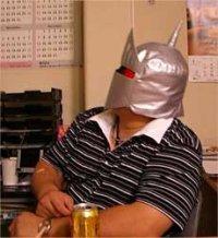 【無料】キン肉マンII世 ロビン風マスクの型紙
