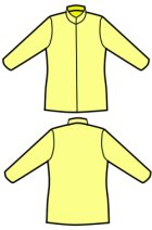 他の写真2: フリースジャケットの型紙 レディース