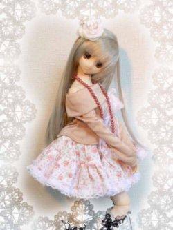 画像2: DD M胸(DDII,III)、SD、SD13女の子用裏地つきのギャザースカート