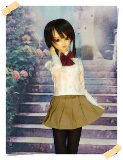 画像2: SD13女の子用 Yシャツの型紙