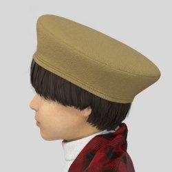 画像1: 【無料】ベレー帽の型紙