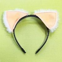 【無料】立体ケモノ耳(ネコミミ、犬耳などが作れる)型紙「お試し」