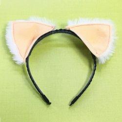画像1: 【無料】立体ケモノ耳(ネコミミ、犬耳などが作れる)型紙「お試し」