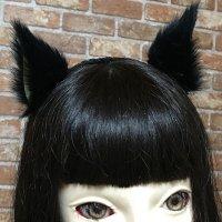 【無料】横向きのケモノ耳(ネコミミ、犬耳などが作れる)型紙「お試し」