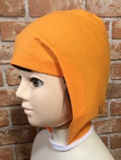 画像1: コスプレ用結ばず着られる忍者頭巾の型紙