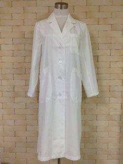 画像3: 白衣も作れるテーラードカラーのボックスコートの型紙【委託商品】 レディース