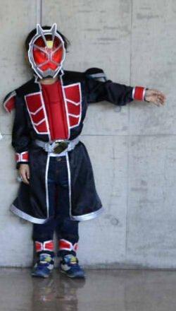 画像1: 【無料】手作り用仮面ライダーウィザード風肩パーツの型紙