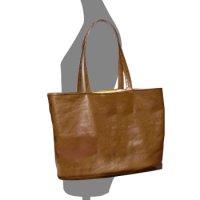 【無料】バケットタイプ・ハンドバッグの型紙