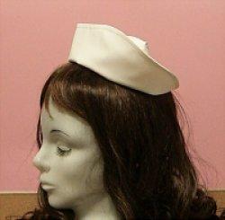 画像1: 【無料】ナースキャップ・看護帽の型紙