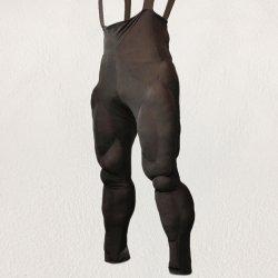 画像1: 筋肉襦袢(じゅばん)下半身の型紙【委託商品】