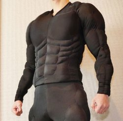 画像1: 筋肉襦袢(じゅばん)上半身の型紙【委託商品】