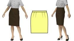 画像1: 【無料】タイトスカートの型紙