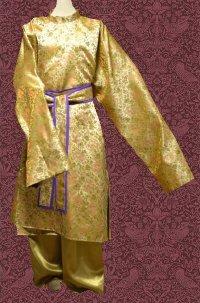 大歌袍もどきの型紙 フリーサイズ