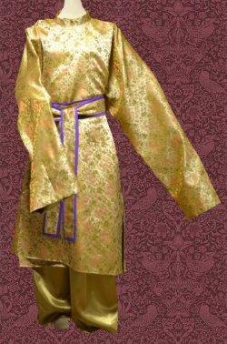 画像1: 大歌袍もどきの型紙 フリーサイズ