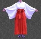 他の写真2: 巫女キャラクターのコスプレに コスプレ用緋袴(スカートタイプ)の型紙 レディース