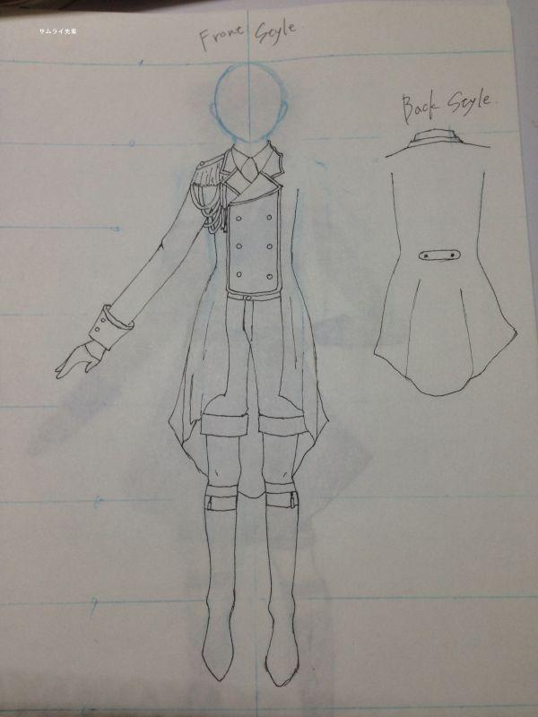 オリジナルの衣装製作の型紙について