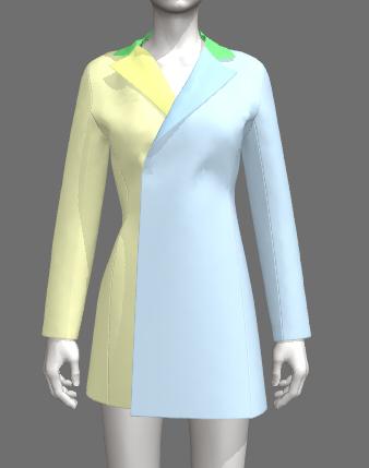 ジャケットの改造