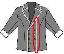 刀剣乱舞、乱藤四郎の衣装について