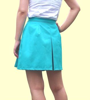 ボックスプリーツスカートの縫い方