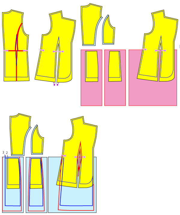 フロックコートの作り方について