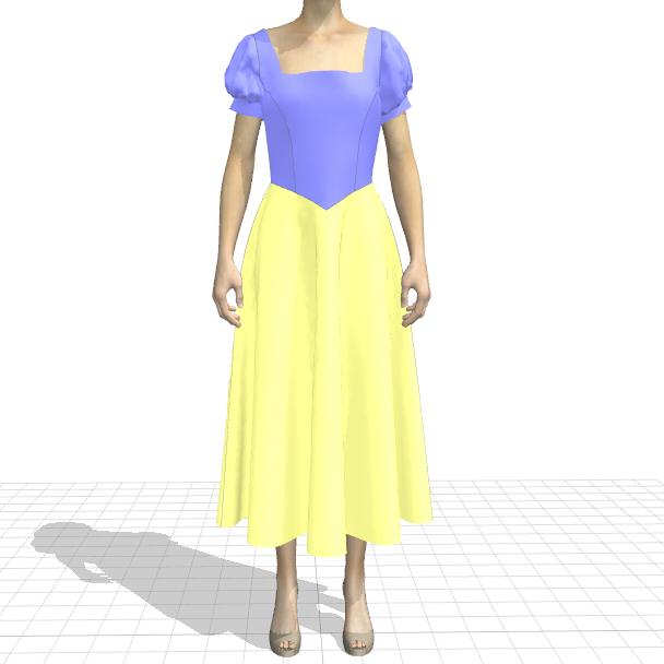 アナと雪の女王 エルサのドレスについて