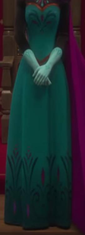 アナと雪の女王 エルサの戴冠式ドレス