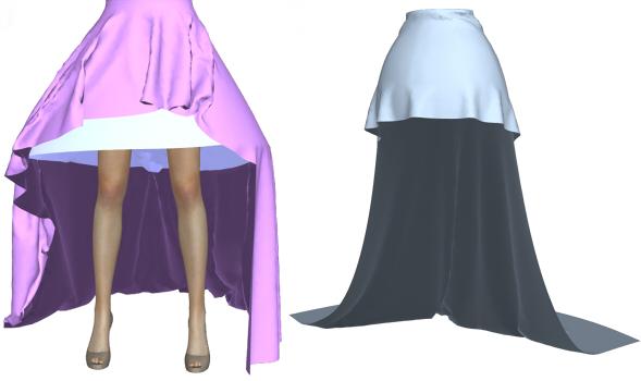 テールスカート長さ変更