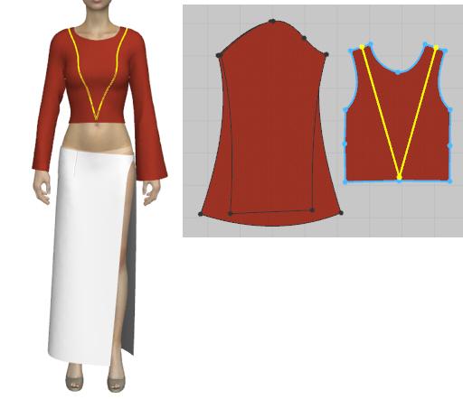 ONE PIECEのボアハンコックの衣装の作り方