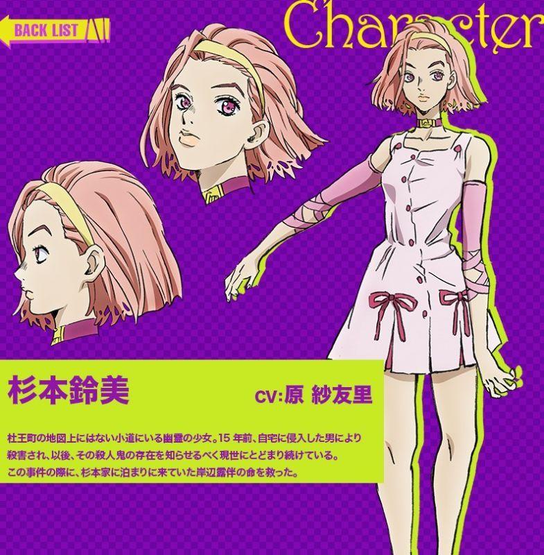 ジョジョの奇妙な冒険第4部 杉本鈴美の衣装