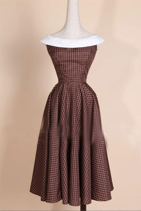 オフショルダードレスの襟について