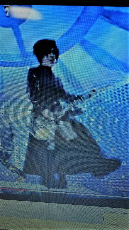 GLAY(バンド)HISASHIさん 着用エナメルロングコート